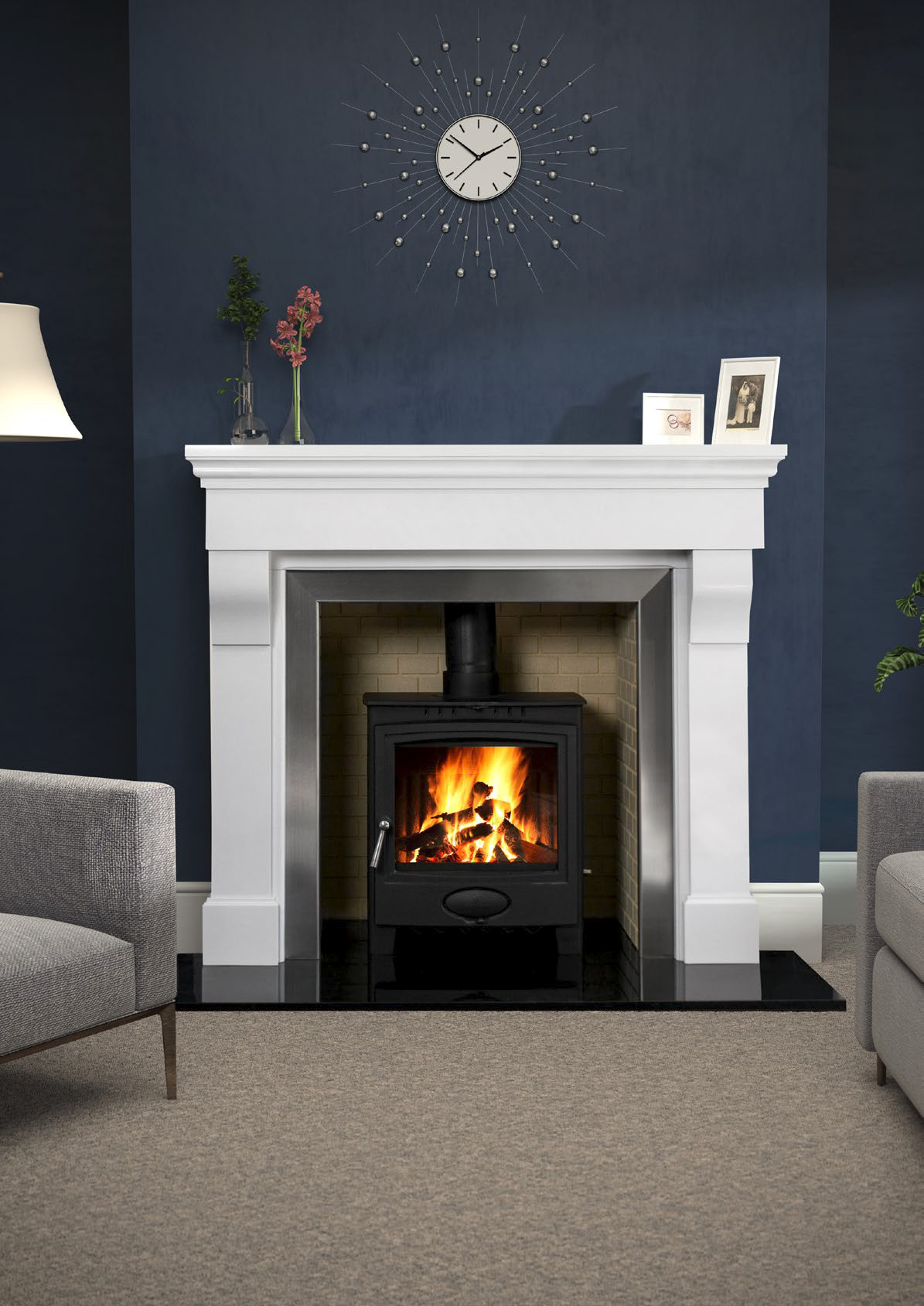 Gms Cabra Flames Amp Fireplaces Banbridge Belfast