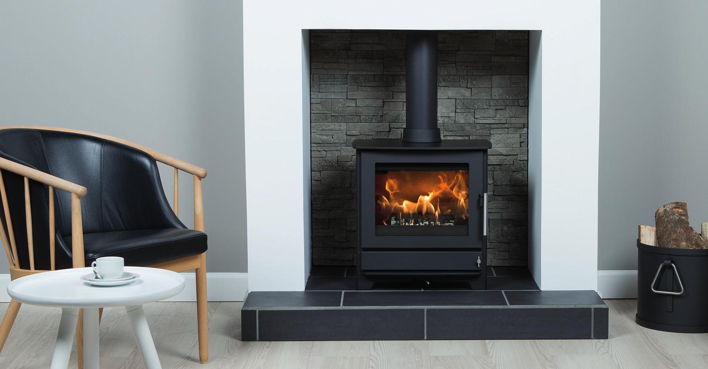 heta inspire 45 flames fireplaces banbridge belfast. Black Bedroom Furniture Sets. Home Design Ideas