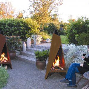Heta Tipi Outdoor Fire