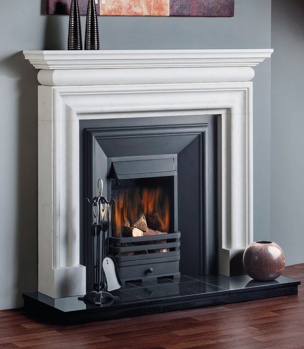 Marble Flames Traditional Bolection Flames Amp Fireplaces