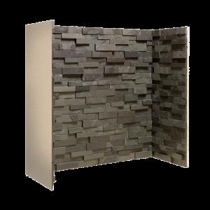 Penman Chamber Staggered Black Slate Block